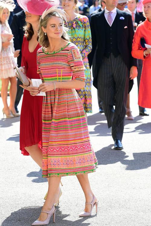 Nữ diễn viên, người mẫu Cressida Bonas quen nhau qua sự giới thiệu của Công chúa Eugenie, em họ của Hoàng tử. Ảnh: Pinterest