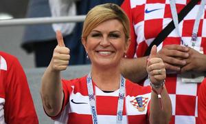 Nữ tổng thống 'cuồng' bóng đá của Croatia