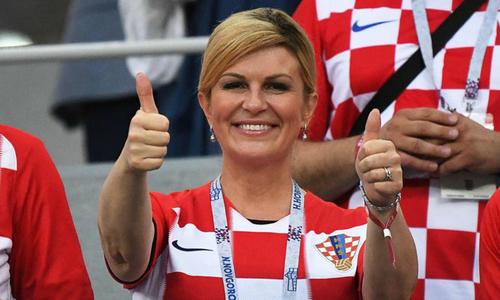 Chân dung nữ tổng thống 'cuồng' bóng đá của Croatia