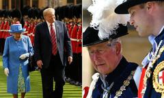 Thái tử Charles và William 'từ chối gặp' khi ông Trump tới Anh