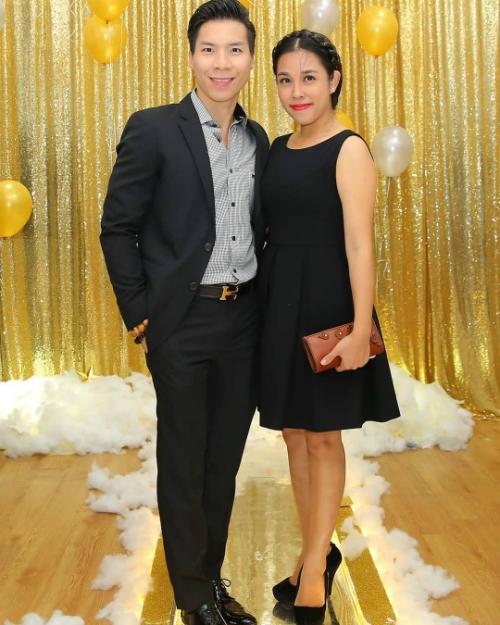 Quốc Nghiệp thả thính bà xã Ngọc Mai khi đăng tải bức ảnh mới của hai vợ chồng: Nhìn kỹ, anh thấy mình cũng đẹp đôi lắm đó em.