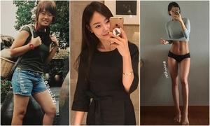 Cô gái Hàn Quốc giảm 16 kg trong nửa năm nhờ ăn 5 bữa mỗi ngày