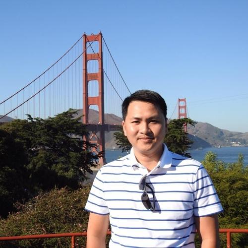 Anh Hoàng Huy, tác giả của nhiều bài chia sẻ về kỹ năng sống được cộng đồng mạng yêu thích.