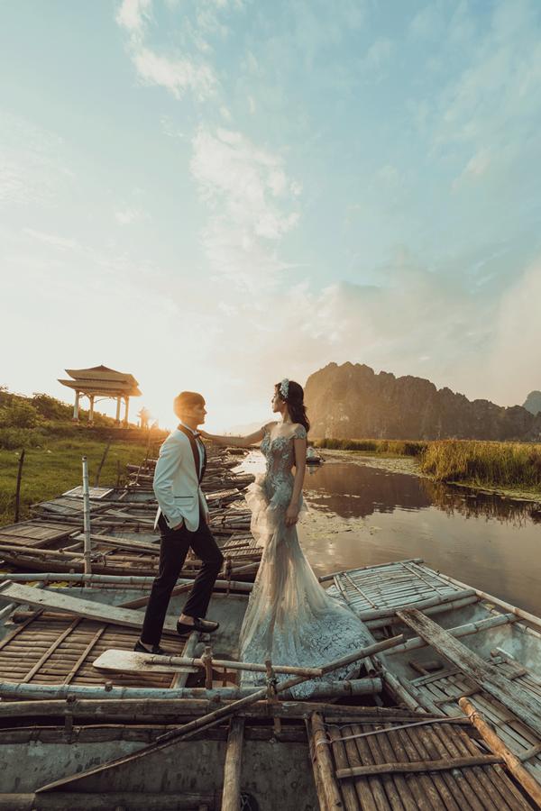 Bộ ảnh được thực hiện tại khung cảnh thiên nhiên nên thơ tại Ninh Bình.