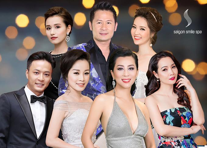 Nhiều ngôi sao trong làng giải trí Việt là những khách hàng thân thiết của Saigon Smile Spa.