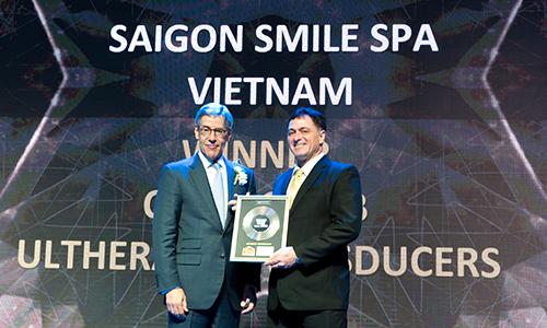 Saigon Smile Spa lập hat-trick giải thưởng làm đẹp quốc tế