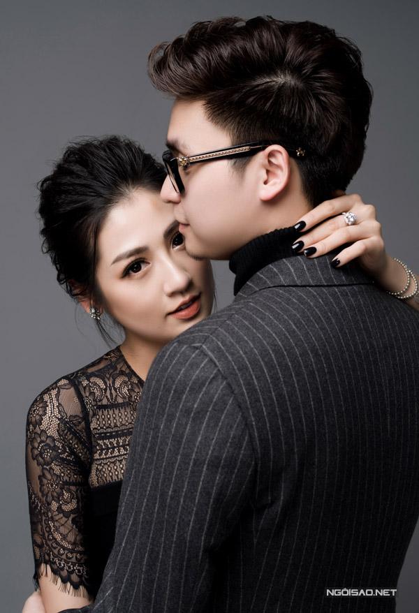 Á hậu Tú Anh được ông xã tương lai hôn má trong bộ ảnh kỷ niệm - 6