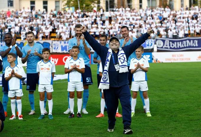 Maradona vừa rời khỏi ghế HLV của CLB hạng hai UAE làAl Fujairah hồi tháng 4.
