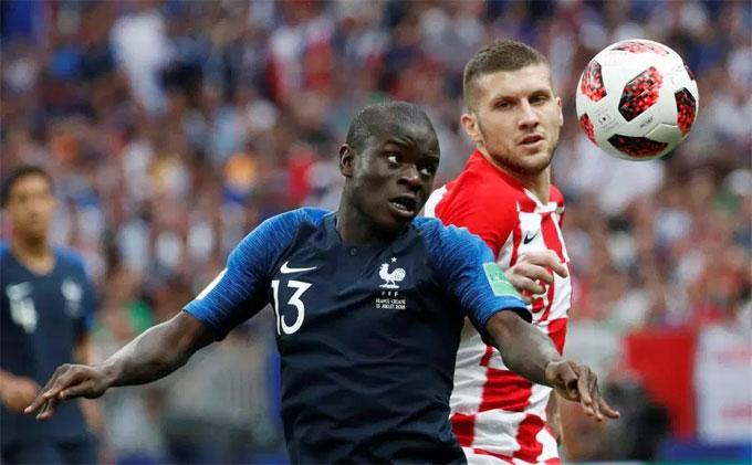 Hé lộ lý do máy quét Kante chơi bất ổn và bị thay ra sớm ở chung kết World Cup