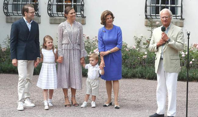Hoàng tử nhỏ đáng yêu của Thụy Điển trong tiệc sinh nhật Công chúa Victoria - 2