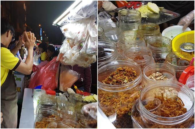 Khu bánh tráng trà chanh chém gió đêm mới nổi ở Sài Gòn