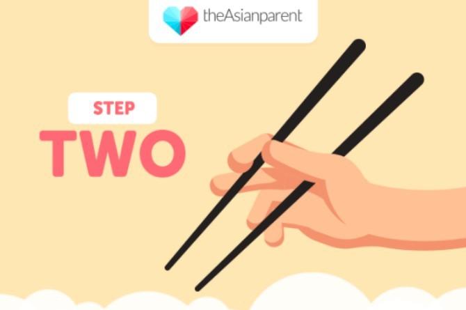 5 bước dạy bé sử dụng đũa thành thạo - 1