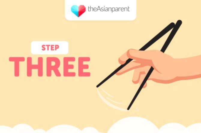 5 bước dạy bé sử dụng đũa thành thạo - 2