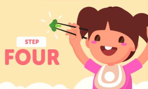 5 bước dạy bé sử dụng đũa thành thạo