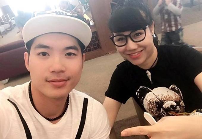 Trương Nam Thành và vợ doanh nhân.