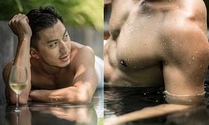Nam vương TVB Viên Vỹ Hào khoe cơ bắp tráng kiện tuổi 37