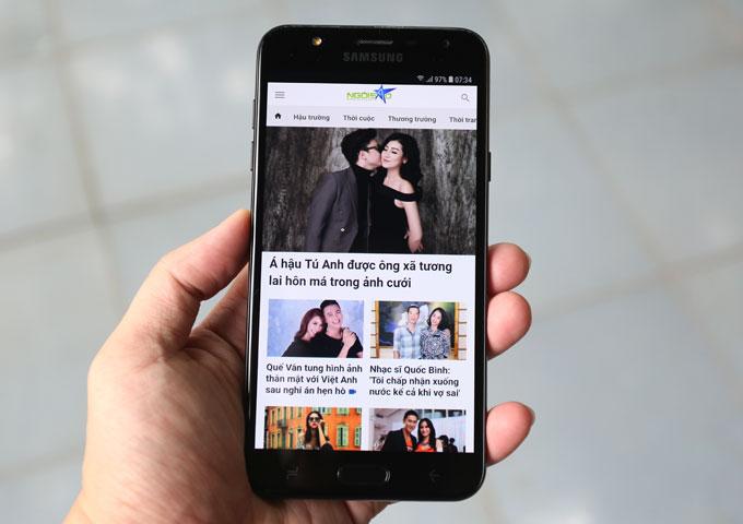 Đánh giá Galaxy J7 Duo: Camera kép xóa phông, cấu hình ổn
