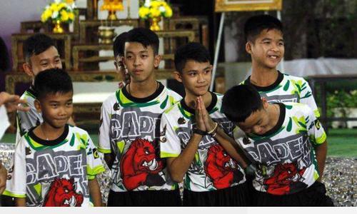 Cầu thủ nhí Thái Lan muốn thành đặc nhiệm SEAL sau khi được giải cứu