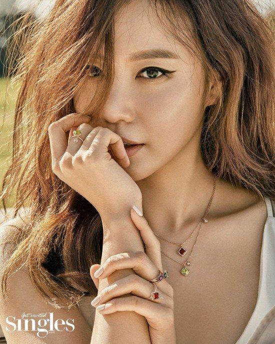 Vẻ đẹp trẻ trung, duyên dáng của mỹ nhân Hàn.
