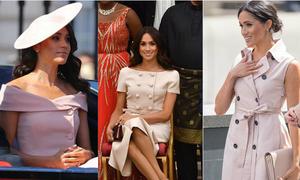 Lý do Meghan thường xuyên chọn trang phục màu hồng khi đi sự kiện