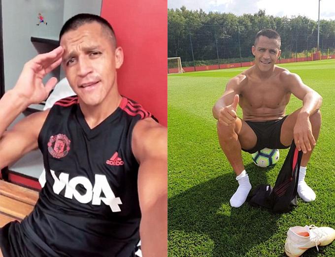 Hàng ngày, Sanchez phải luyện tập một mình tại sân tậpCarrington của MU.