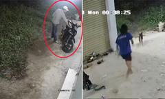 Trộm co cẳng chạy vì bị chủ nhà bắt quả tang 'nhảy xe'
