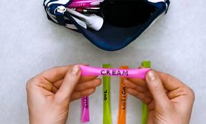Mẹo dùng ống hút để chiết mỹ phẩm cho chuyến du lịch ngắn ngày