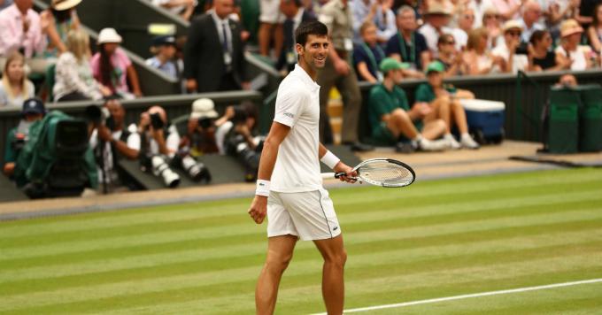 Djokovic tụt 70 bậc trong danh sách vận động viên thu nhập cao năm nay. Ảnh:CNBC