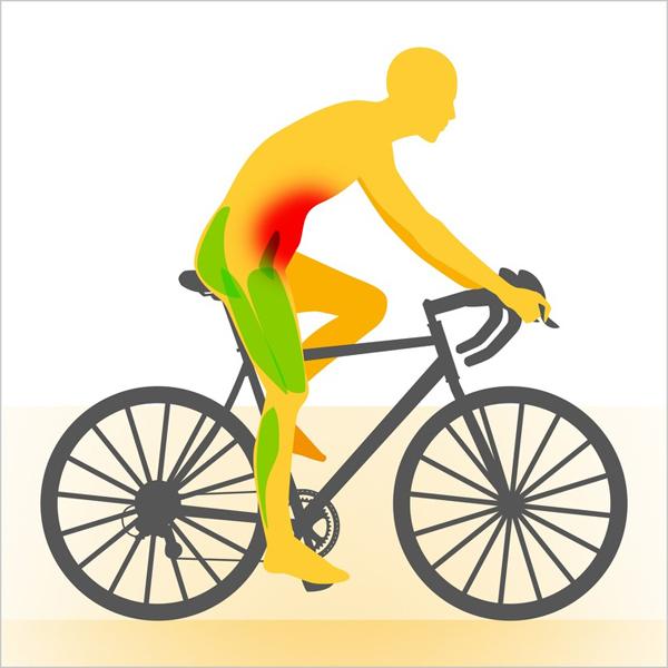 Dùng xe đạp thay cho xe máy để tăng cường cơ hội vận động.