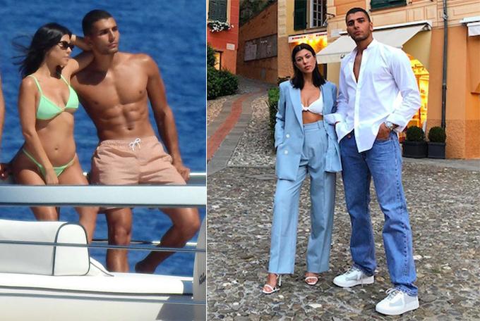 Ngôi sao truyền hình thực tế Kourtney Kardashian (39 tuổi) đang hẹn hò người mẫu Pháp Younes Bendjima (25 tuổi). Tuy hơn phi công trẻ tới 14 tuổi nhưng chị gái Kim và anh chàng này vẫn rất đẹp đôi. Kourtney sở hữu thân hình săn chắc, nóng bỏng dù đã là mẹ của 3 nhóc tỳ.
