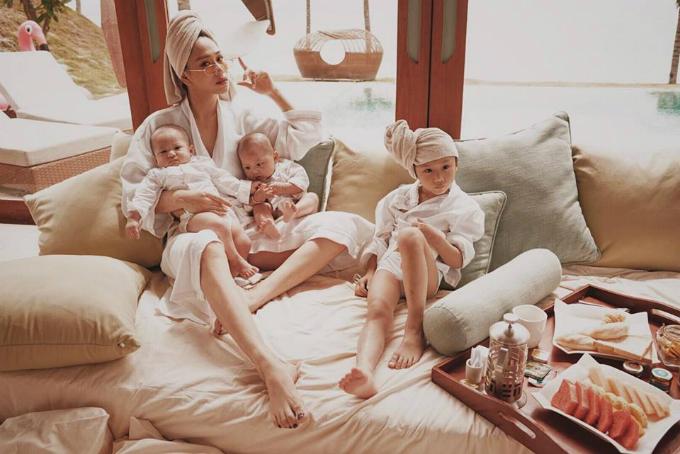 Các con là gia tài vô giá của vợ chồng Diệu Thúy.