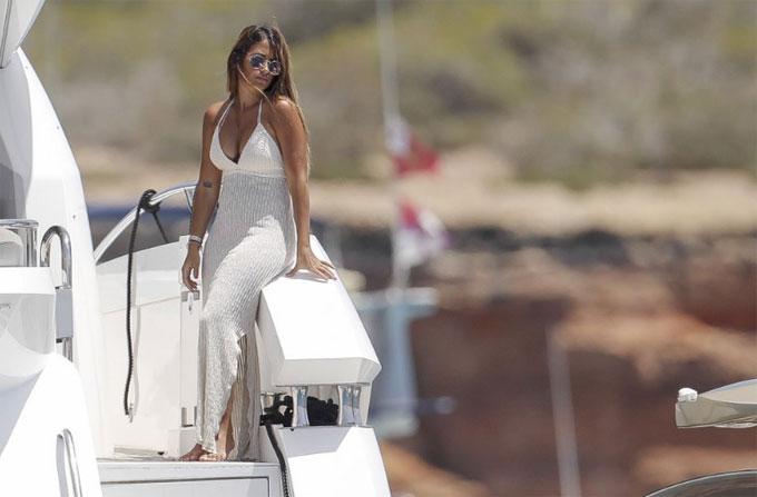 Cặp đôi vừa tổ chức đám cưới mùa hè năm ngoái tại quê nhà Argentina.