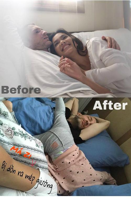 Kể từ dạo ấy, mép giường là nơi mẹ thuộc về...