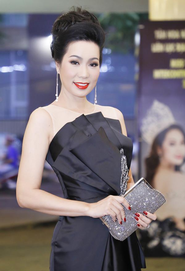 Á hậu Trịnh Kim Chi cùng Nguyên Vũ là giám khảo Hoa hậu doanh nhân người Việt Liên lục địa 2018. Chị tiết lộ nhiều lần tranh cãi căng thẳng với nam ca sĩ trên ghế nóng. Tuy nhiên ngoài đời cả hai vẫn là bạn bè thân thiết.