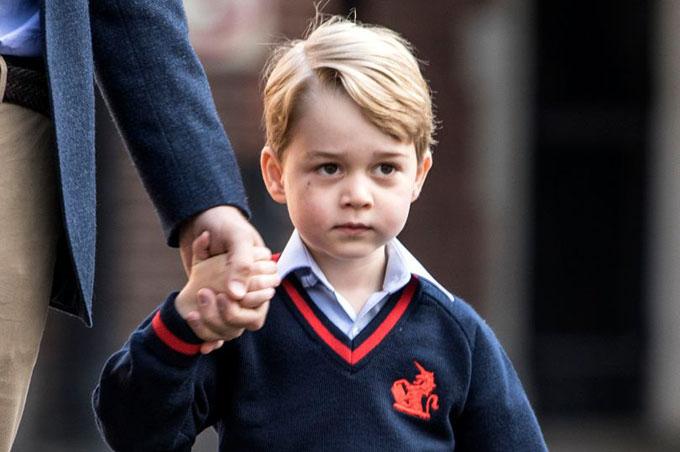 Hoàng tử George tròn 5 tuổi vào ngày 22/7. Ảnh: PA.