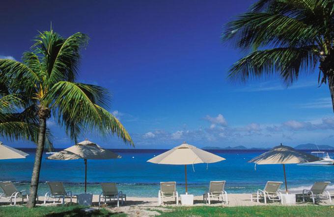 Thiên đường nghỉ dưỡng Mustique. Ảnh: Alamy.