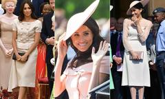 Meghan chi 200.000 USD cho 15 bộ trang phục và phụ kiện sau đám cưới hoàng gia