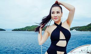 Thu Minh tung ảnh gợi cảm mừng MV đạt triệu view