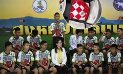 Croatia tặng áo đấu cho 12 cầu thủ nhí Thái Lan thoát nạn