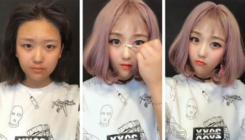 """Những màn """"lột xác"""" ngoạn mục không cần dao kéo của hotgirl Trung Quốc"""