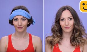 3 cách tạo tóc xoăn sóng nước không cần dùng nhiệt