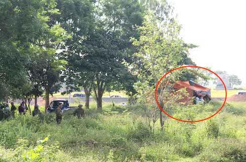 Ngày 24/5 cảnh sát khai quật tử thi bà Hoa.