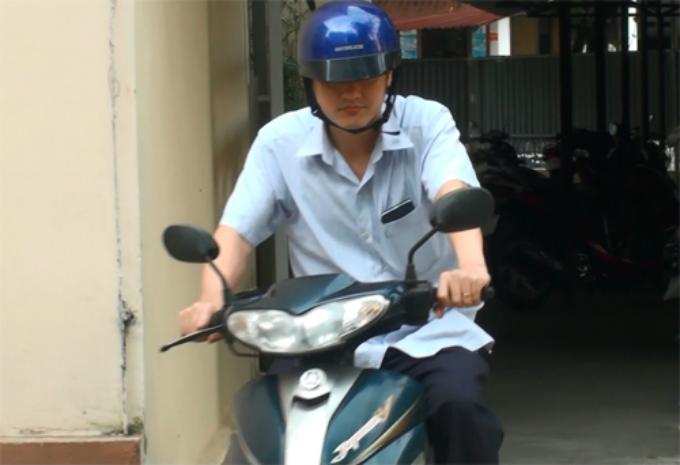 Ông Vũ Trọng Lương tại Sở Giáo dục và Đào tạo Hà Giang ngày 19/7. Ảnh: Phạm Dự