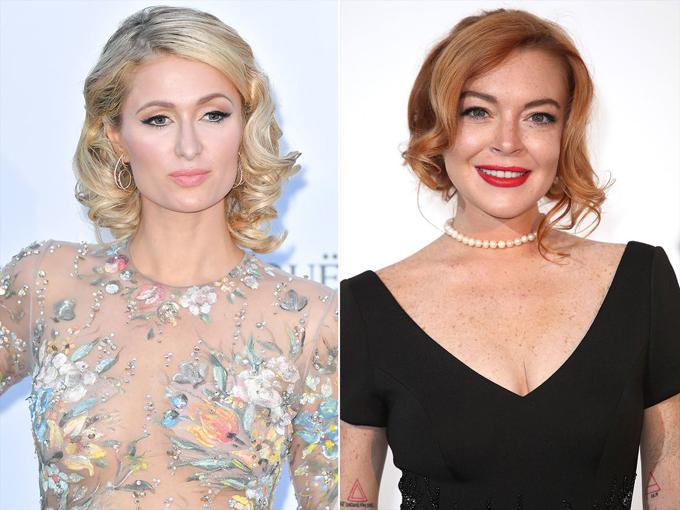 Paris và Lindsay từng chơi chung nhưng đã từ mặt nhau.
