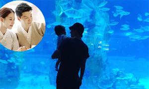 Lee Dong Gun sống bình yên bên vợ và con gái