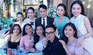 Dàn Hoa hậu, Á hậu tranh nhau hoa cưới của Tú Anh