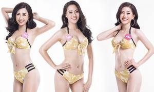 38 thí sinh Hoa hậu VN 2018 miền Bắc diện bikini khoe dáng
