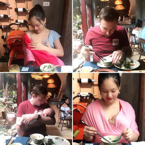 Diễn viên Lan Phương chia sẻ cuộc sống đời thường sau khi hạ sinh con gái cưng.