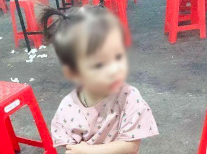 Hình ảnh bé gái trước khi mất tích. Ảnh: Q.N