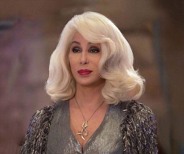 Hình ảnh lộng lẫy của Cher trong phim.